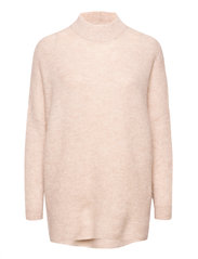 SLFLULU ENICA LS KNIT O-NECK - BIRCH