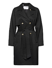 SLFWEKA TRENCHCOAT - BLACK