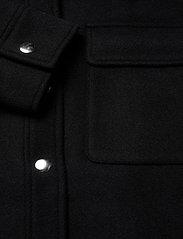 Selected Femme - SLFTESSA WOOL SHIRT JACKET - wool jackets - black - 3