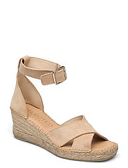 SLFESTHER WEDGE SUEDE ESPADRILLES B - NOMAD