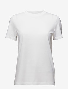 SLFMY PERFECT SS TEE BOX CUT NOOS - BRIGHT WHITE