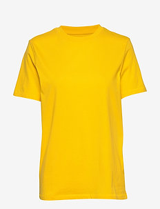 SLFMY PERFECT SS TEE BOX CUT COLOR - t-shirts - empire yellow