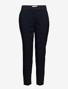 SFAMILA MW PANT EX - bukser med lige ben - dark sapphire