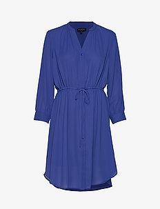 SLFDAMINA 7/8 DRESS B - CLEMATIS BLUE