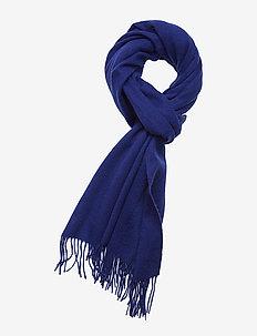 SLFTIME WOOL SCARF B - CLEMATIS BLUE