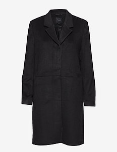 SLFBOA WOOL COAT B - manteaux en laine - black