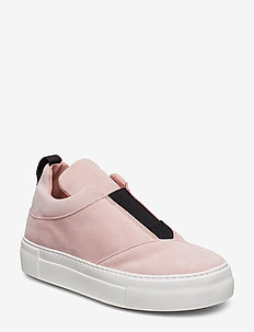 SLFANN SUEDE SLIPON B - low top sneakers - heavenly pink