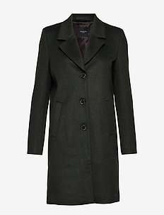 SLFSASJA WOOL COAT NOOS B - ROSIN