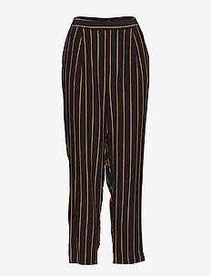 SLFALESSA MW ANKLE PANT B - bukser med brede ben - black