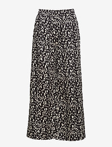 SLFLEOLA WIDE  PANT B - vide bukser - black