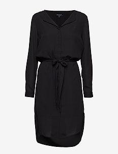 SLFDYNELLA LS DRESS NOOS - BLACK