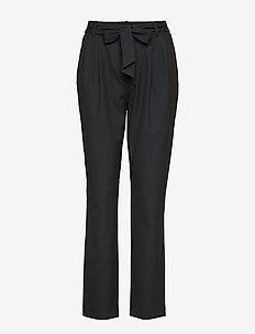 SLFBIO KIPAS MW PANT NOOS - bukser med lige ben - black