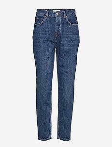 SLFFRIDA HW MOM INKY BLUE JEANS W - straight jeans - dark blue denim