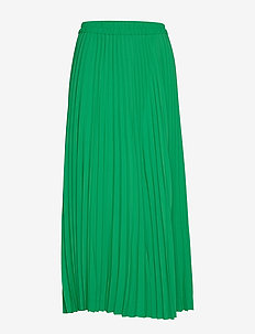 SLFALEXIS MW MIDI SKIRT B - jupes midi - bright green