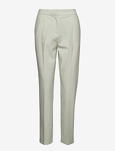 SLFOLLA MW PANT B - rette bukser - spray