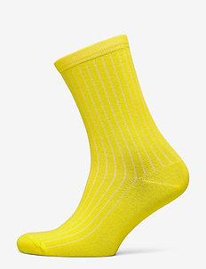 SLFBOBBY RIB SOCK B - sokker - empire yellow