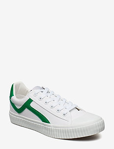 SLFERICA CANVAS TRAINER B - low top sneakers - gumdrop green