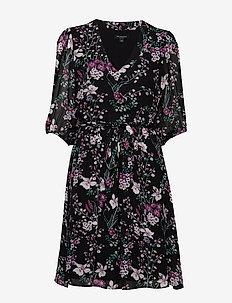 SLFVONNA 3/4 DRESS B - robes courtes - black
