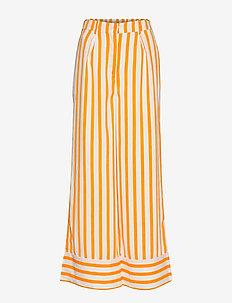SLFDORIT HW AOP PANT B - vida byxor - radiant yellow