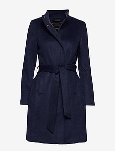 SLFMEA WOOL COAT B NOOS - NIGHT SKY