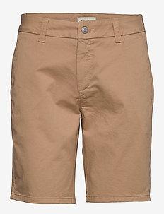 SLFMEGAN MW SHORTS W - chino shorts - tannin