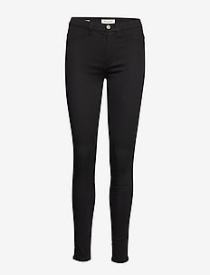 SLFGAIA HW JEGGING BLACK W NOOS - skinny jeans - black denim