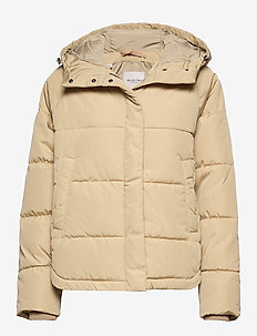 SLFPUFF JACKET W - safari