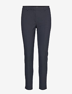 SLFMUSE FIE CROPPED MW PANT  DS MEL NOOS - DARK SAPPHIRE
