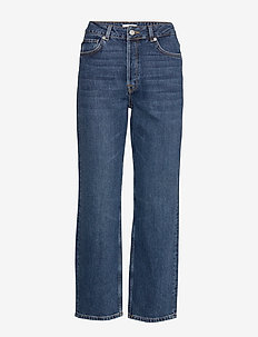 SLFKATE HW STRAIGHT INKY BLU JEAN U NOOS - straight jeans - medium blue denim