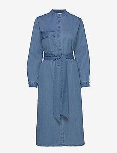 SLFNORA LS SHIRT DRESS W - LIGHT BLUE