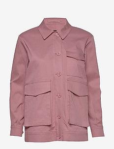 SLFLARA LS SHACKET B - vestes legères - heather rose