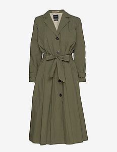 SLFTINKA LS COAT B - trenchcoats - four leaf clover