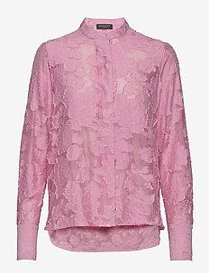 SLFSADIE LS SHIRT B - koszule z długimi rękawami - rosebloom