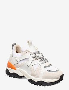 SLFAMY TRAIL TRAINER B - sneakers med lav ankel - white