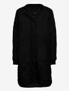 SLFNATALIA QUILTED COAT B NOOS - tikkitakit - black