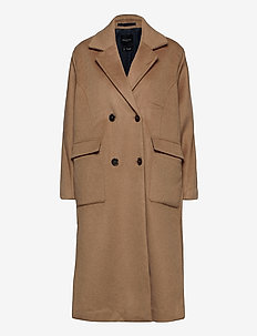SLFELEMENT WOOL COAT B - manteaux en laine - tigers eye