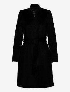SLFMELLA WOOL COAT B NOOS - uldfrakker - black