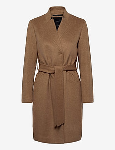 SLFMELLA WOOL COAT B NOOS - manteaux en laine - tigers eye