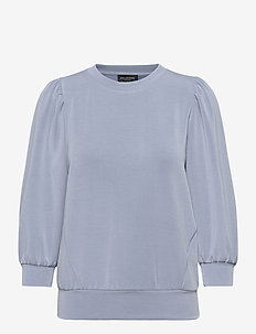 SLFTENNY 3/4 SWEAT - sweaters - country blue