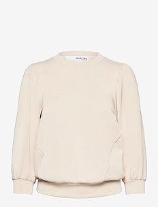 SLFTENNY 3/4 SWEAT - sweatshirts - sandshell