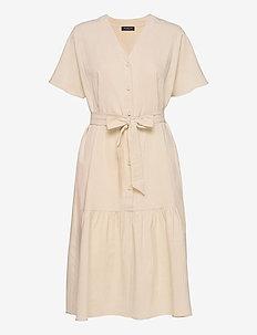 SLFMIONI SS MIDI DRESS B - midi dresses - sandshell