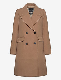 SLFSASSY WOOL COAT B - manteaux en laine - tigers eye