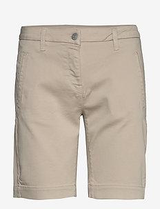 SLFTUNJA MW SHORTS EX - chino shorts - silver lining
