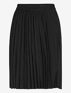 SLFALEXIS MW SHORT SKIRT B - midi skirts - black