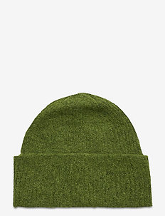 SLFLINNA KNIT BEANIE B - mössor - twist of lime