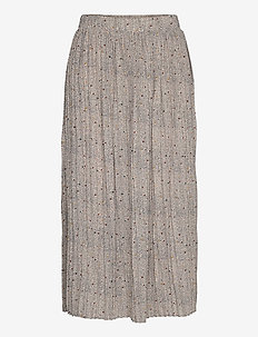 SLFCARA MW SKIRT EX - jupes midi - birch
