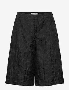 SLFFLORA MW SHORTS G - shorts casual - black