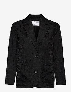 SLFFLORA L/S BLAZER G - oversized blazers - black