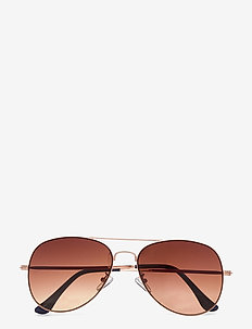 SLFBANA SUNGLASSES - cat-eye - demitasse