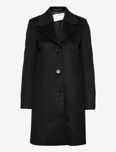 SLFNEWASJAOOL COAT - winterjassen - black